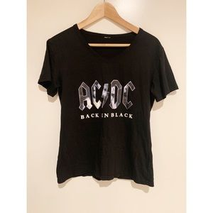 Ac/dc Herrenmode High Voltage Guitar T-shirt T-shirts